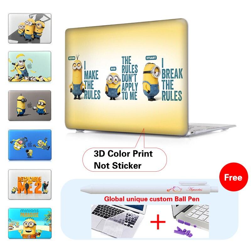 Minion Dressing Room Matte Laptop Väska Omslagsmycke För Macbook - Laptop-tillbehör - Foto 5