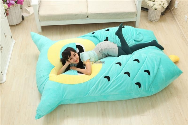 Fancytrader 200cm X 150cm Huge Giant Cute Hoot Owl Tatami Bed Carpet Sofa, Gift For Girls, Free Shipping FT90291 (5)