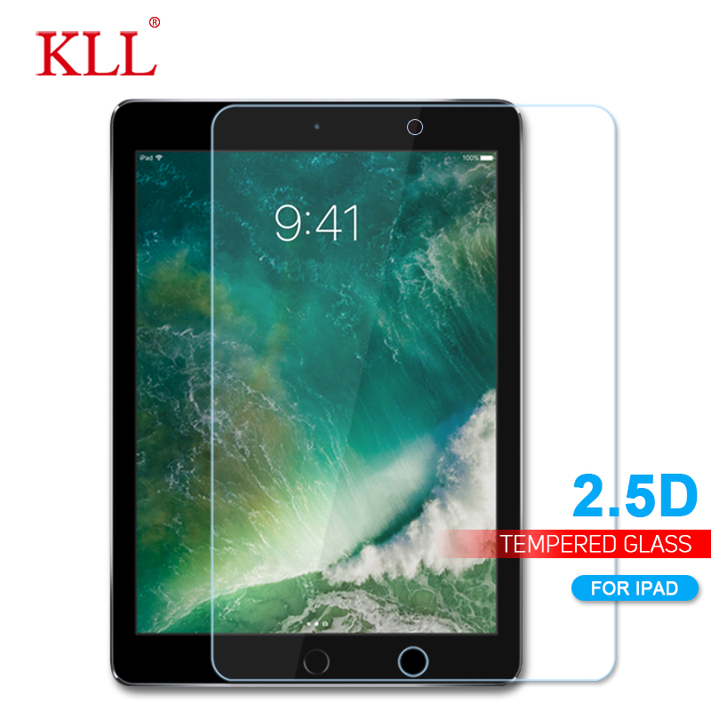 2.5D Tempered Glass for iPad 2 3 4 High Quality Screen Protector for iPad Mini 1 2 3 4 Air 1 9H Hardness Protective Glass Film