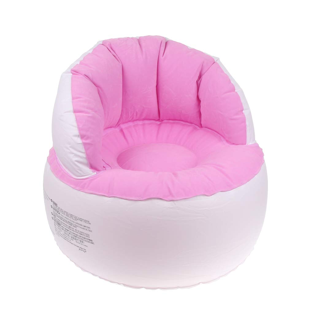 Portable Children Seats Sofa Beach Inflatable Chair Soft Sitting Seat Cushion Indoor Outdoor Chair for Toddler Baby Kids