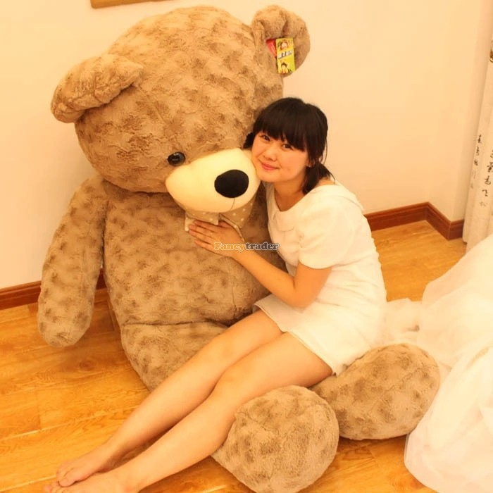Fancytrader 67\'\' 170cm JUMBO Huge Giant Plush Stuffed Teddy Bear, 3 Colors Available, Free Shipping FT90345 (6)