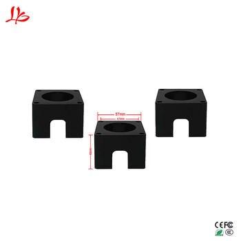 цена на 3PCS/LOT Nema23 Motor mounts base 57 stepper motor bracket for diy cnc engraving machine