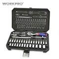 WORKPRO 35PC Tool Set Thuis Instrumenten Set van Tools voor Auto Reparatie Tools 1/4