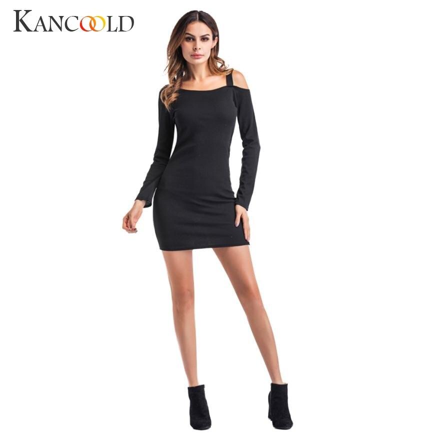 Frau Dress: KANCOOLD 2017 Frauen Elegantes Kleid Sexy Tau