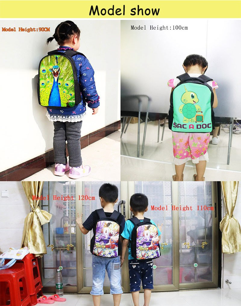 Pokemon Impresso Escola Backpacks12 Polegada Pikachu Pokemon