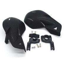 7 색 범용 오토바이 핸드 가드 motocross 프로텍터 Handguards 7/8 22mm ATV 먼지 자전거 손 보호대