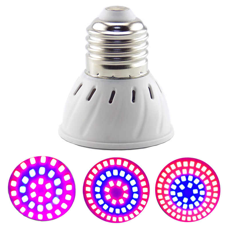 Phyto Lamp LED Grow Light E27 Plant Light Bulbs for Plant Growth Flower Seedlings Greenhouse Growth Lighting Red Blue Phytolamp