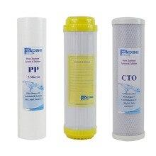 цена на Replacement Filter sets 10 PP sediment 5 micron/Ion Exchange Resin filter/Coconut Carbon Block Filter(3 pcs/lot)