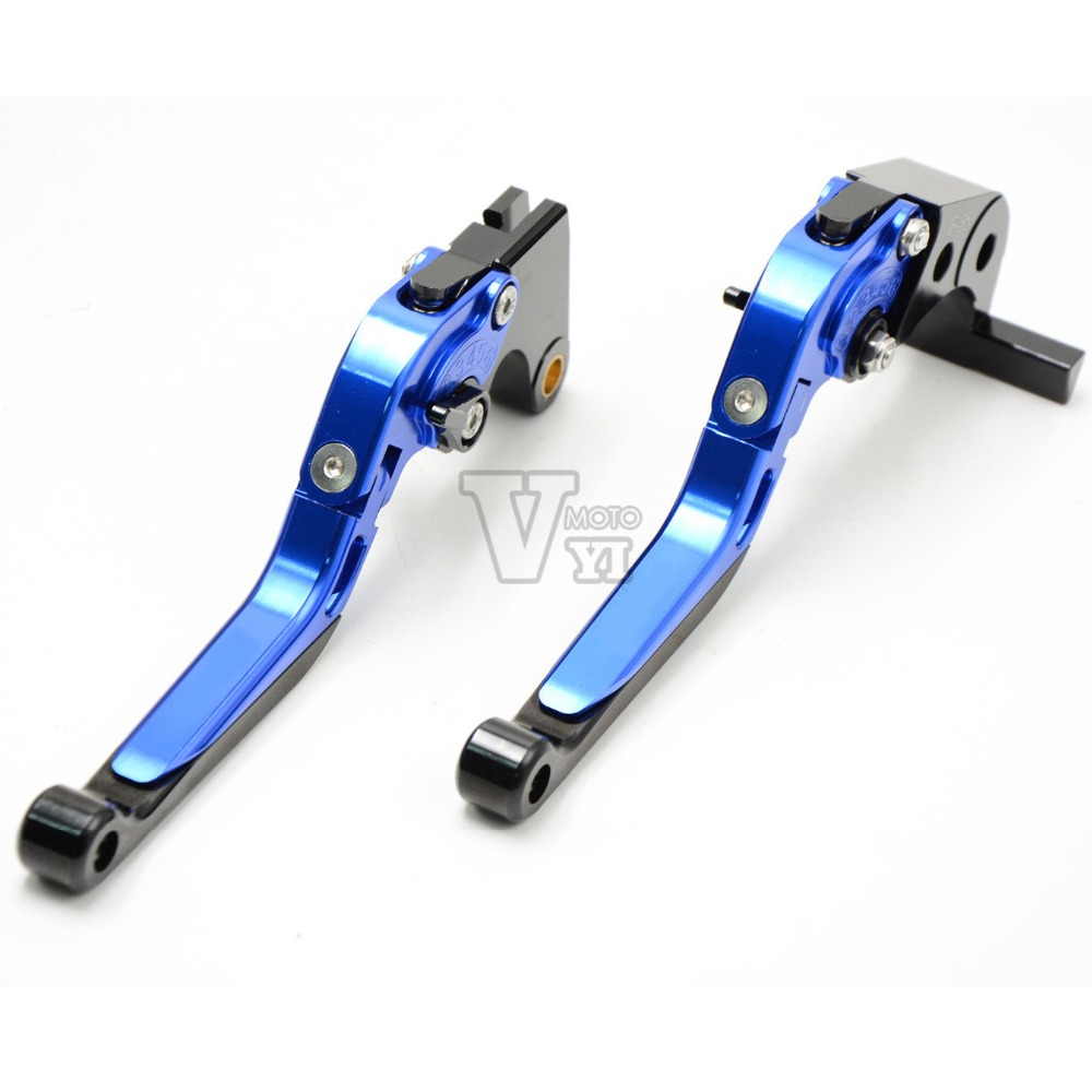 Motorcycle Adjustable Folding Extendable Brake Clutch Levers For SUZUKI GSXR 600/750 GSX-R 600/750 2006 2007 2008 2009 2010 aftermarket free shipping motorcycle parts for motorcycle 2006 2007 suzuki gsxr 600 750 2005 2008 gsx r 1000 chrome