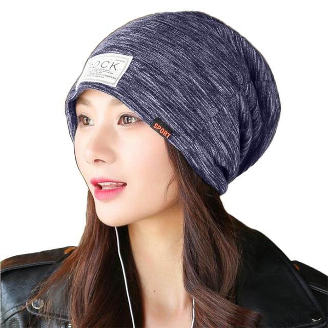 6882c3e24e2 Men Women Beanies Hat Winter Double Deck Plus Velvet Thick Warm Caps Bonnet  Autumn Casual Solid Skullies Hats Boys Girls Gorro