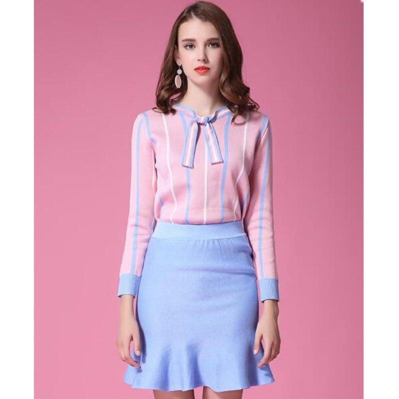 Aliexpress.com : Buy New 2016 Women Sweaters Skirts Sets Autumn ...