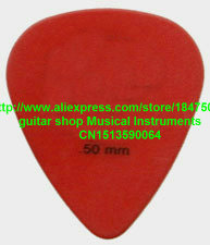 new 72 piece Guitar Picks 0.50 mm red Guitar Picks from china free shipping