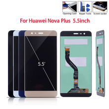 5.5 inch For Huawei Nova Plus LCD Display 1920*1080 Touch Screen Digitizer Assembly Replacement TD-LTE MLA-L01 L11 L02 L03 n184h3 l02 fit n184h3 l01 18 4 lcd 1920 1080 lcd led screen panel 1 ccfl 1 lamp