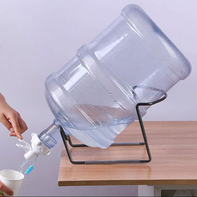 OOTDTY 5 Gallon Water Jug Bottle Shelf Rack Holder