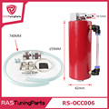 RASTP-Aluminio Racing Catch Tanque de Aceite/Can 750 ml Ronda Can Embalse Turbo Aceite Catch Can/Can Catch Universal RS-OCC006