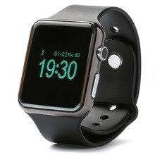 """สมาร์ทอิเล็กทรอนิคส์1.44 """"OLEDบลูทูธ4.1 Pedometerกล้องระยะไกลPSGเพลง/ SMSซิงค์ป้องกันการสูญเสียนาฬิกาสำหรับA Ndroid/IOS"""