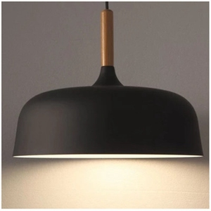 Image 5 - LukLoy lampe suspendue en bois, design moderne, luminaire dintérieur, luminaire dintérieur, idéal pour une cuisine, un salon, LED, lampe à LED