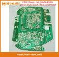 Fast Ship Livre HASL 1 OZ 1.0mm/1.2mm/1.6mm/2.0mm Único Lado/Double Side/Projeto do PWB Multilayer/Clone PCB/PCB Fabricação