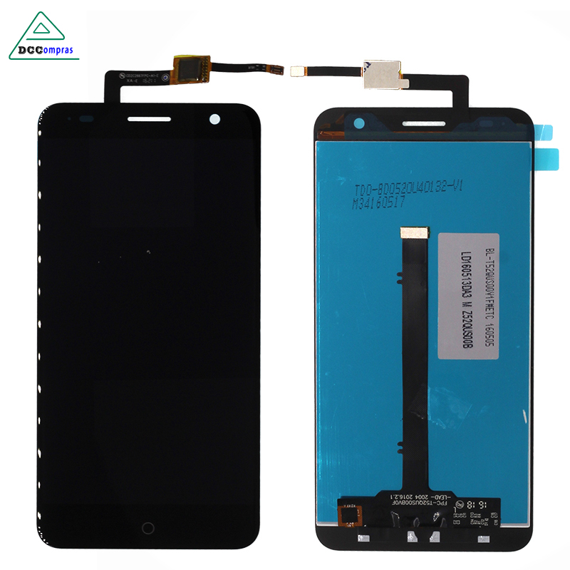 LCD Display For ZTE Blade V7 Touch Screen Panel Assembly Replacement Screen For ZTE V7 Phone Free shipping And Tools