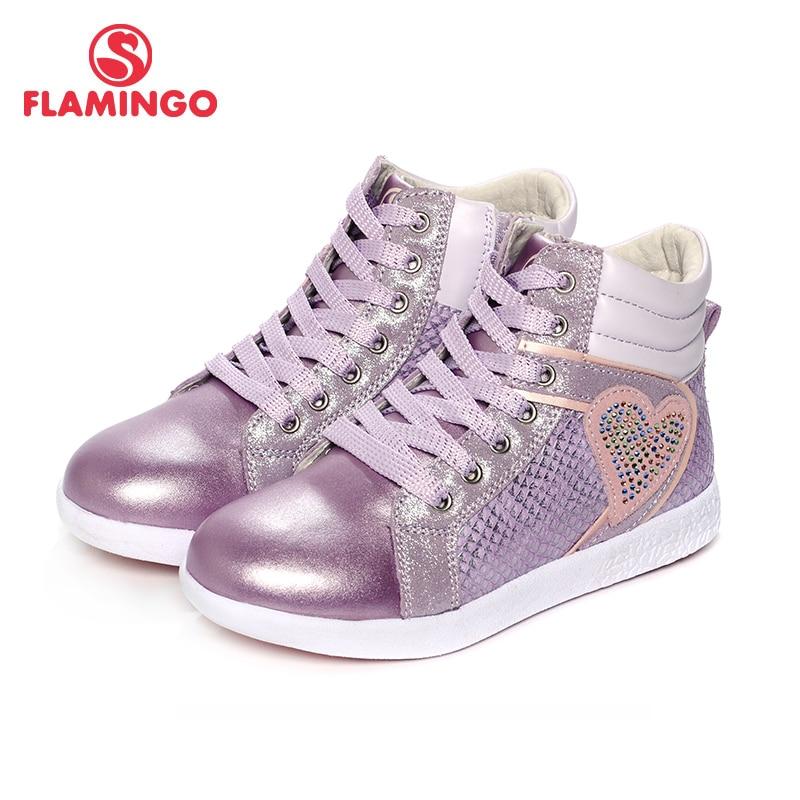 купить FLAMINGO 2017 New Arrival Spring & Autumn fashion kids boots high quality anti-slip kids shoes for girls 71B-XY-0134/71B-XY-0135 онлайн