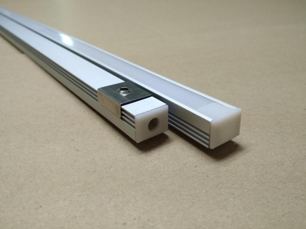 Transport gratuit 2m / buc, 75pcs / lot încastrat Profile din - Iluminat cu LED