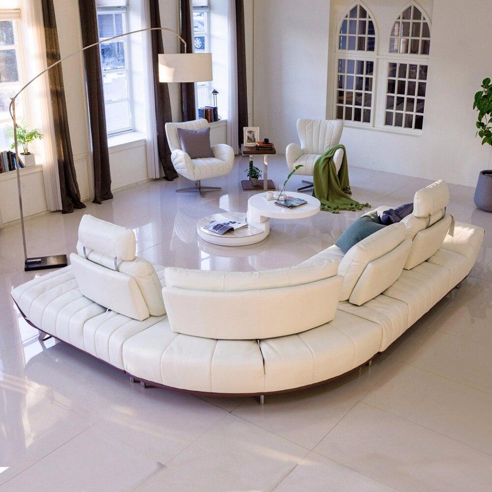 Cuero Genuino Sof Seccional De La Sala Sof De La Esquina Muebles  # La Esquina Muebles
