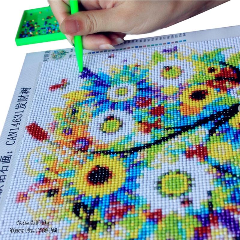 WELLCOLOR Diamond Mosaic Кескіндеме 5D Diamond Diamond - Өнер, қолөнер және тігін - фото 4