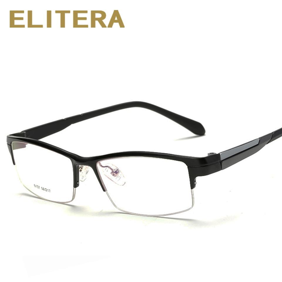 Sports frames for eyeglasses - Sports Eyewear Aluminum Magnesium Myopia Glasses Frame Comfortable Slip Resistant Half Rim Frame Eyeglasses