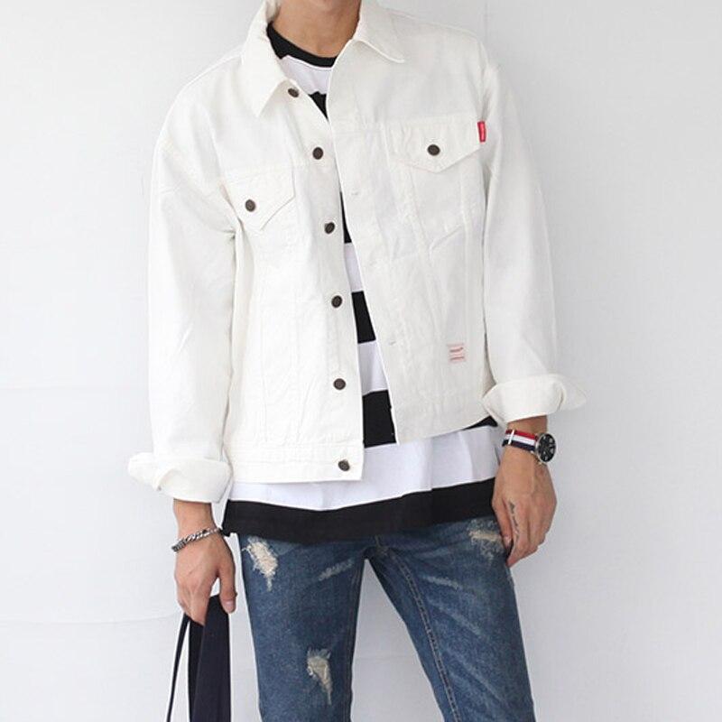 Aliexpress.com : Buy Men's Cotton Black White Short Jacket Coat ...