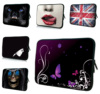 Flowers Notebook Protective Inner Bags Cases For Dell HP Acer Macbook Samsung Lenovo 16 16 8