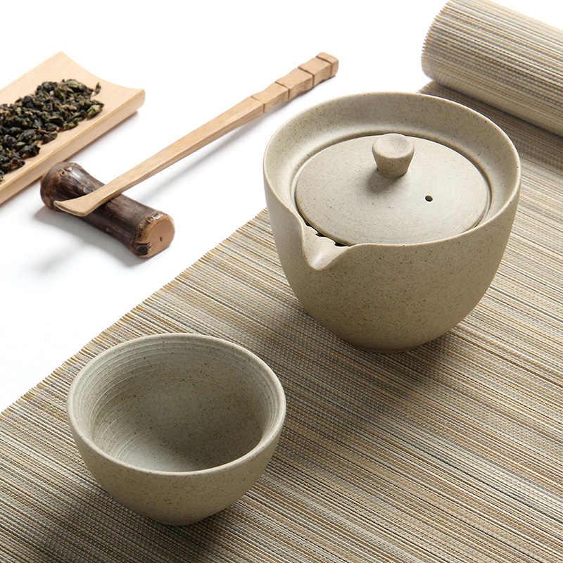 TANGPIN caffè e tè set teiera di ceramica gaiwan tazza di tè bollitori per puer portable viaggi tea set