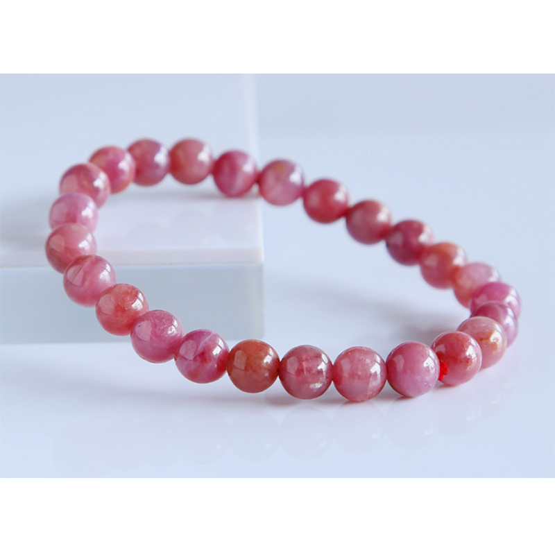 Free Shipping Discount Wholesale Natural Genuine Pink Red Ruby Bracelet Smooth Round beads Finished Stretch Bracelets 7.5mmFree Shipping Discount Wholesale Natural Genuine Pink Red Ruby Bracelet Smooth Round beads Finished Stretch Bracelets 7.5mm