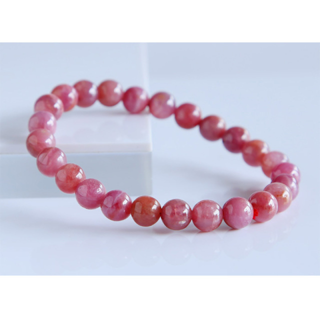 bracelet two meaning red what elegant is natural rows ruby tylish stone