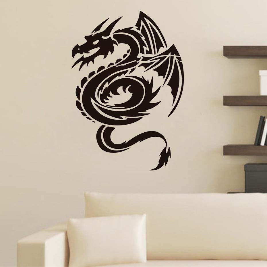 Wall stickers dragon choice image home wall decoration ideas aliexpress online shopping for electronics fashion home aliexpress online shopping for electronics fashion home garden toys amipublicfo Images