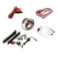 Universal Laptop Notebook AC DC Jack Repair Power Supply Adapter Connector Plug + Multimeter Probe +Phone Current Test Cable