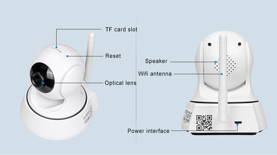 HTB12HQJn5AnBKNjSZFvq6yTKXXaY INQMEGA 720P IP Camera Wireless Wifi Cam Indoor Home Security Surveillance CCTV Network Camera Night Vision P2P Remote View