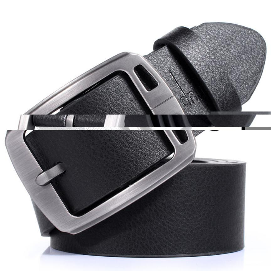 desire #50 New Slim Vintage Classic Jean Pin Buckle Belts Business Casual Black
