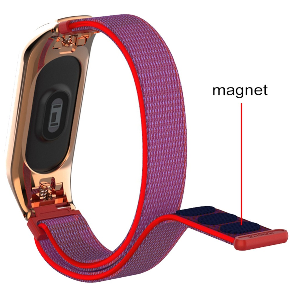 Hangrui Canvas Strap For Xiaomi Miband 3 Smart Bracelet Deduction Watch MiBand 3 Strap Replaceable Band For Xiaomi Mi Band 3    Hangrui Canvas Strap For Xiaomi Miband 3 Smart Bracelet Deduction Watch MiBand 3 Strap Replaceable Band For Xiaomi Mi Band 3