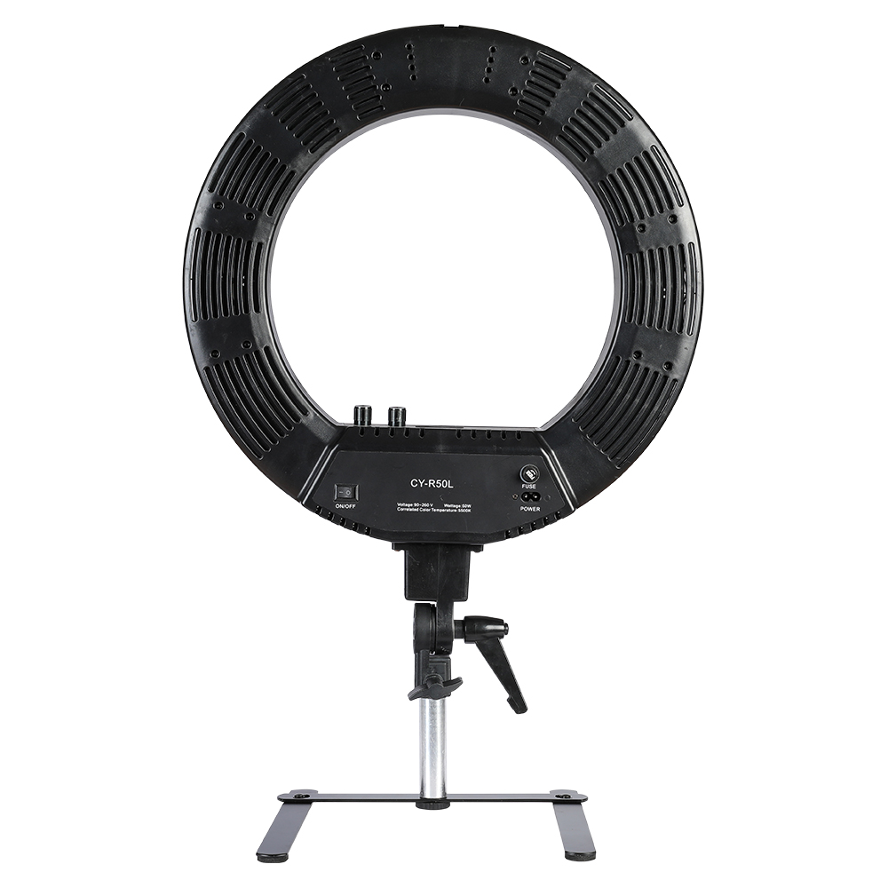 18 inch photography photo studio 480 LED ring light 5500k dimmable camera ring video light lamp with 12cm light stand 1pc 150w 220v 5500k e27 photo studio bulb video light photography daylight lamp for digital camera photography