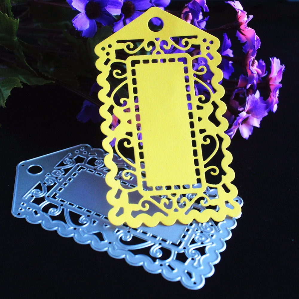 Luggage Tag Greeting Cards Scrapbook Craft Dies Scrapbooking Die 3D Stamp DIY Scrapbooking Card Making Photo Decoration Supplies