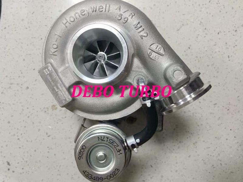 Nuevo genuino GT17Z 836048-3 3772742 Turbo 3796165 turbocompresor para FOTON CUMMINS ISF3.8 3.8L 105KW