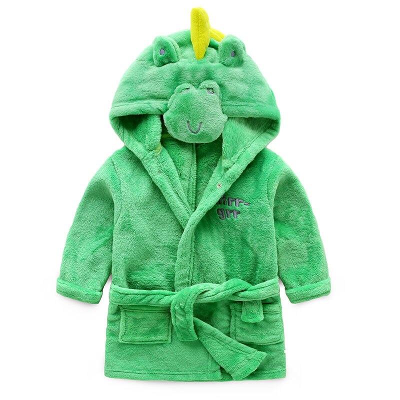 Детские халаты для маленьких мальчиков бархатные пижамы халаты пижамы для девочек детей кораллового цвета одежда для малышей Детские пижа...