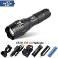 Lanterna com zoom CREE XM L2 T6 poderosa Lanterna Led 3800 Lumens À Prova D' Água Led Torch para 3 3xaaa ou 18650 Acampamento elétrica da tocha