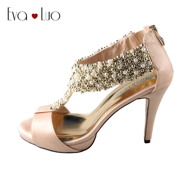 Champagne Dress Shoes for Women