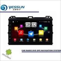 YESSUN автомобильный проигрыватель Android мультимедиа для Toyota Prado для Lexus GX усилительный насос J120 Радио Стерео gps Nav навигационная карта (без CD DVD) 9