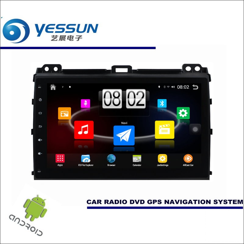 YESSUN Car Android Player Multimedia For Toyota Prado For Lexus GX J120 Radio Stereo GPS Nav Navi Map ( no CD DVD ) 9 HD Screen
