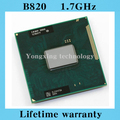 Lifetime warranty Celeron B820 1.7GHz Dual Core SR0HQ Notebook processors Laptop CPU PGA 988 Socket G2 Computer Original