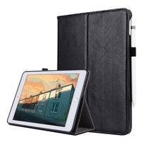 For IPad Mini 1 2 3 Smart Flip Tablet Case Cover High Quality Genuine Leather PU