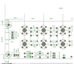 Image 4 - 4 way manual amplifier  signal selection source selection amplifier signal board input selection board signal switch board
