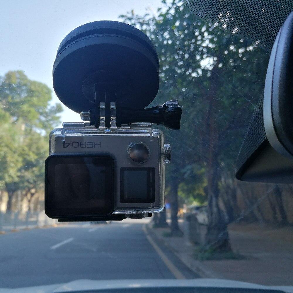 Magnetische Auto Voorruit En Window Mount Paar (zuignap Killer), Achteruitkijkspiegel Voor Gopro/sjcam/actie Camera